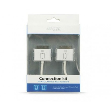 CABLE IPHONE4/4S CONEXION CON IPAD (KIT TRANSFER)