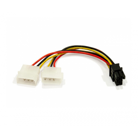 CABLE MOLEX GRAFICA 2X5.25 A 6 PIN PCI-E