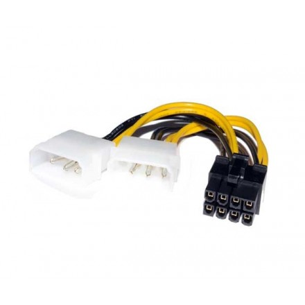 CABLE MOLEX GRAFICA 2X5.25 A 8 PIN PCI-E