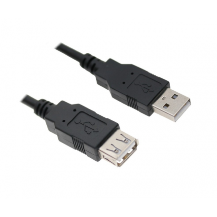 CABLE PROLONGADOR USB 2.0  M/H  3M  10.01.0204-BK