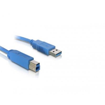 CABLE USB IMPRESORA 3.0 TIPO A/M-B/M  1M