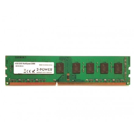 MEMORIA RAM 2POWER DIMM DDR3 4GB 1600MHZ / CL11