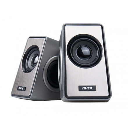 ALTAVOZ PC 2.0 TREM FT899 NEGRO / 3WX2 / 1.2M / MTK