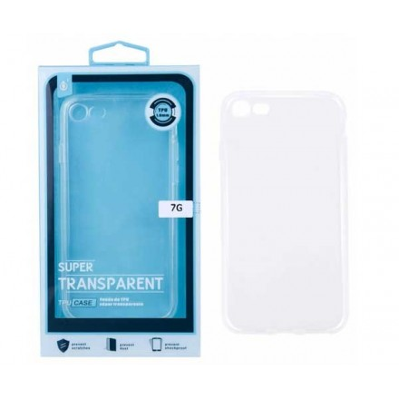 FUNDA TRANSPARENTE IPHONE 6 PLUS / 5.5 PULG.